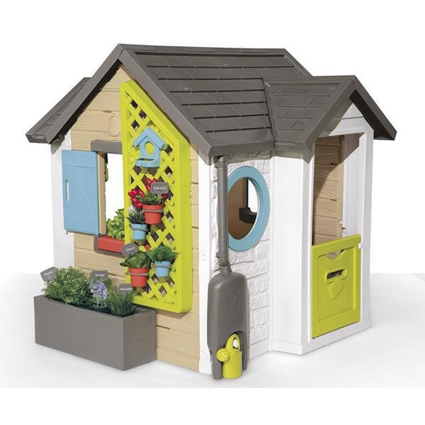Imagen de Casa Infantil Jardín Temático Smoby