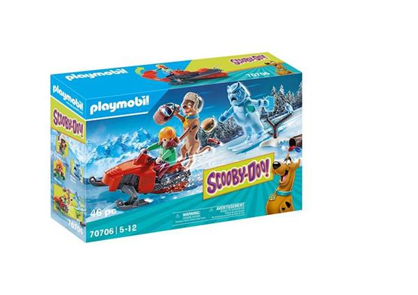Imagen de Playmobil SCOOBY-DOO! Aventura con Snow Ghost