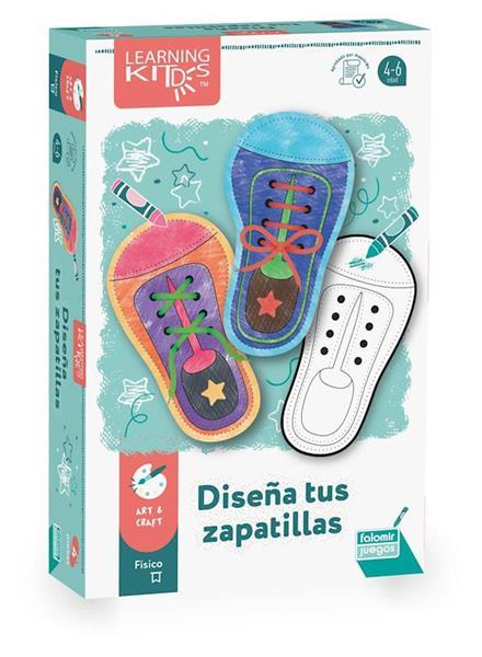 Imagen de Juego Diseña Tus Zapatillas