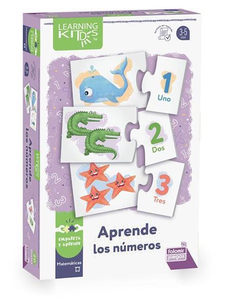 Imagen de Puzle Aprende Los Números Del 1 Al 20