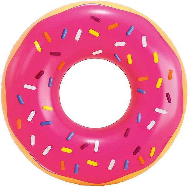 Imagen de flotador donut rosa