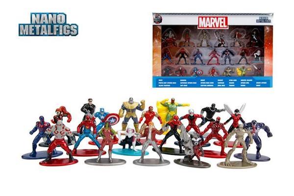 Imagen de Set 20 Nanofiguras Marvel Metal 4 Cm