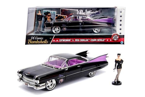 Imagen de Catwoman Cadillac Coupe Deville 1959 1:24