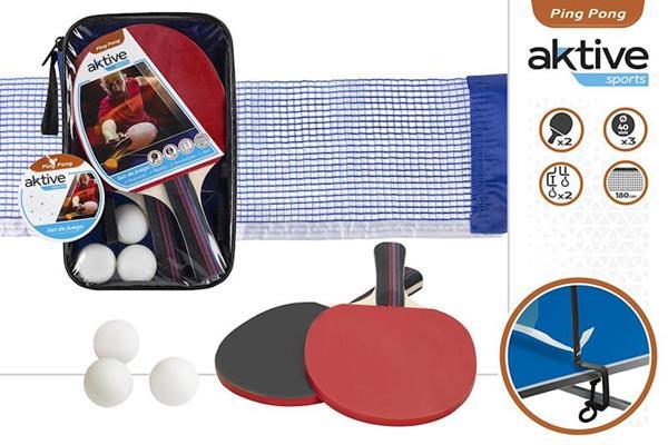 Imagen de Palas Ping Pong Con Red Y Pelotas