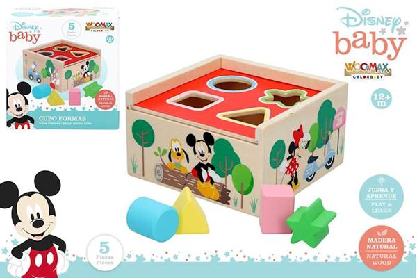 Imagen de Cubo Encajables Madera Disney
