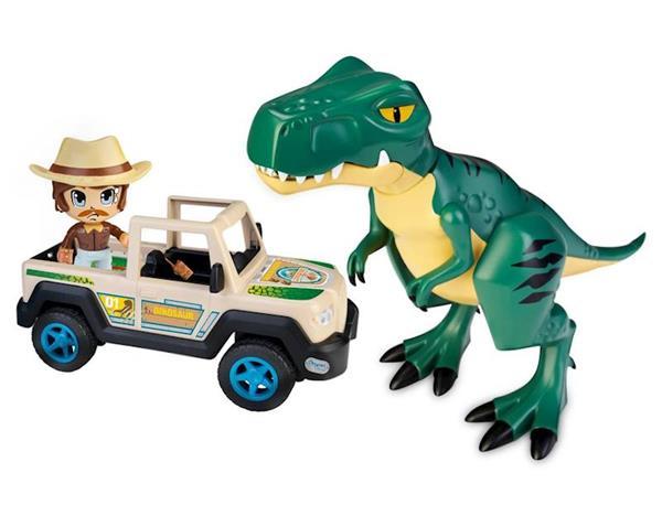 Imagen de Wild Explorador Con Dinosaurio Pinypon Action