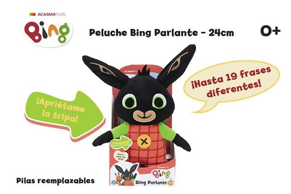 Imagen de Peluche Bing Parlante 24 Cm