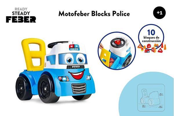 Imagen de Correpasillos Policia Blocks
