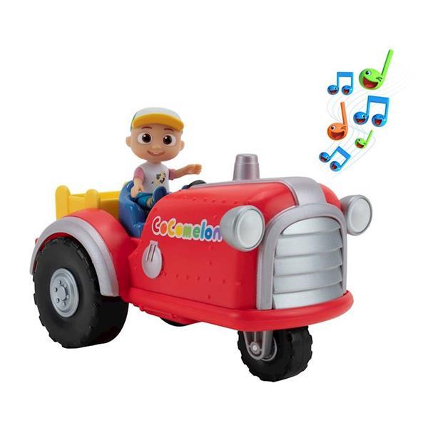 Imagen de Cocomelon Tractor Musical 18 Cm