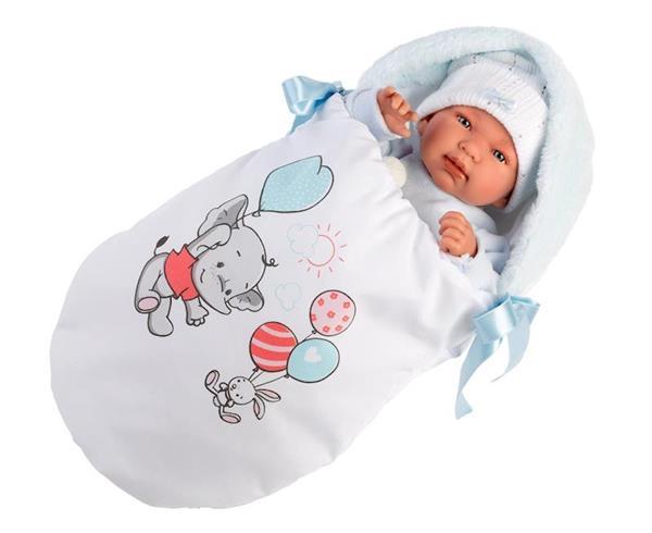 Imagen de Muñeco Recién Nacido Llorón Tino 44 Cm