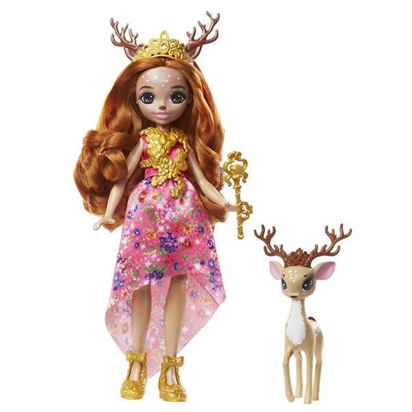 Imagen de Muñeca Enchantimals Royal Reina Daviana y Grassy