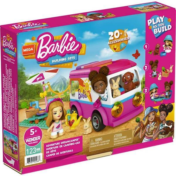 Imagen de Barbie Mega Construcción Supercaravana Aventuras