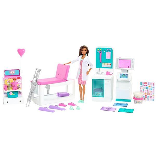 Imagen de Muñeca Barbie Doctora y su Clínica Médica