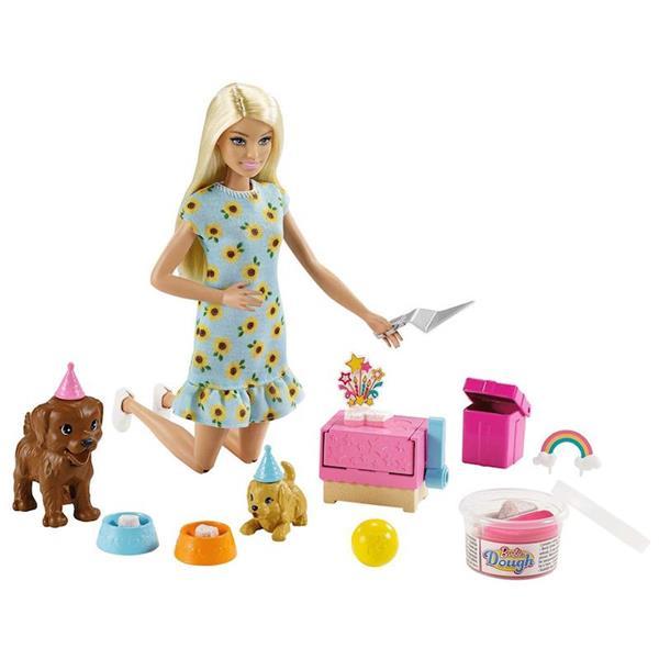 Imagen de Muñeca Barbie Fiesta de Perritos