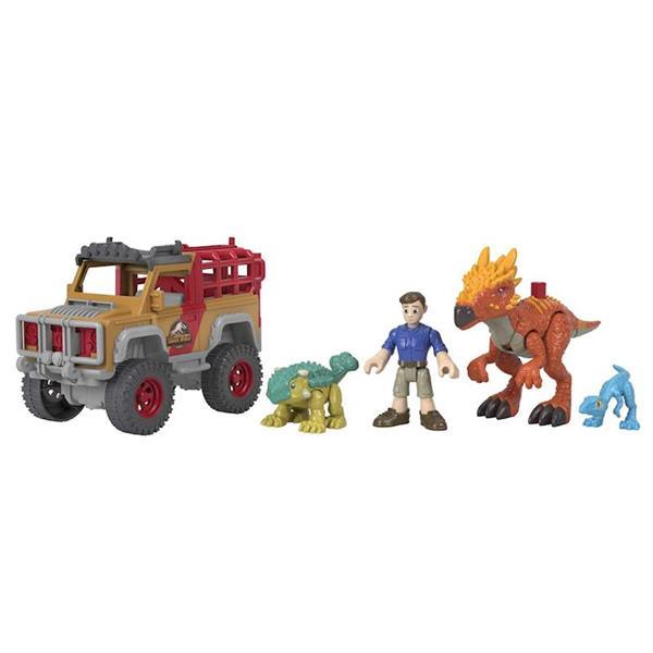 Imagen de Imaginext Jurassic World con Vehículo Dinosaurios Figitivos