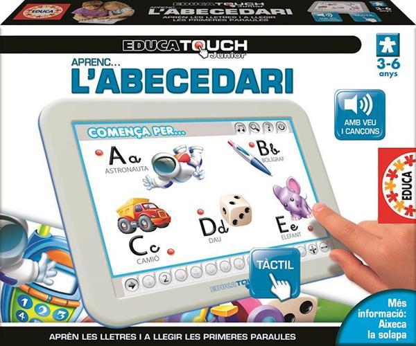 Imagen de Educa Touch Abecedari Catalán