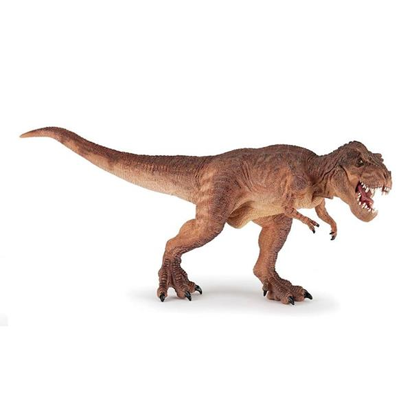 Imagen de Figura T-Rex Marrón Corriendo Papo