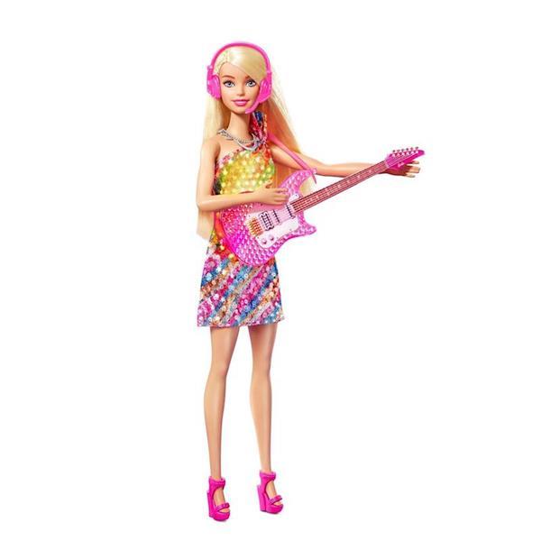 Imagen de Muñeca Barbie Malibú Música