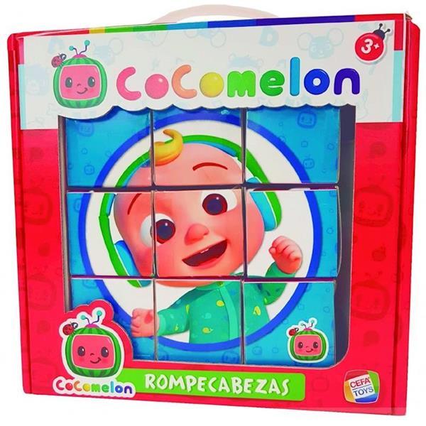 Imagen de rompecabezas cocomelon 9 cubos