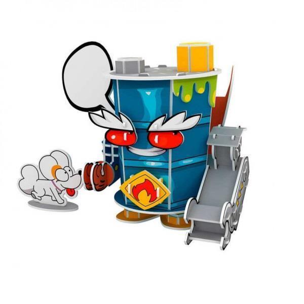 Imagen de Puzzle 3d Superthings Mr. King