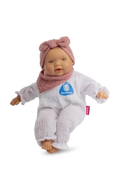 Imagen de Sany Baby Muñeca Bebé Lazo Rosa