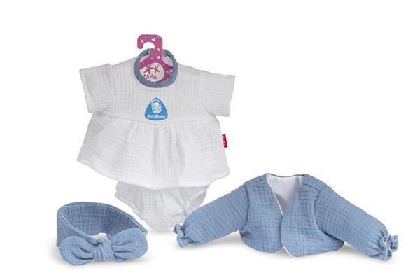 Imagen de Sany Baby Ropa Antibacterias Lazo Azul