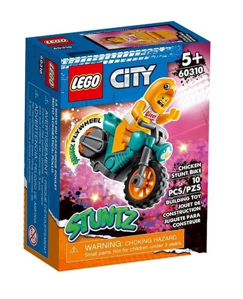 Imagen de Lego City Moto Acrobacias Stuntz Pollo