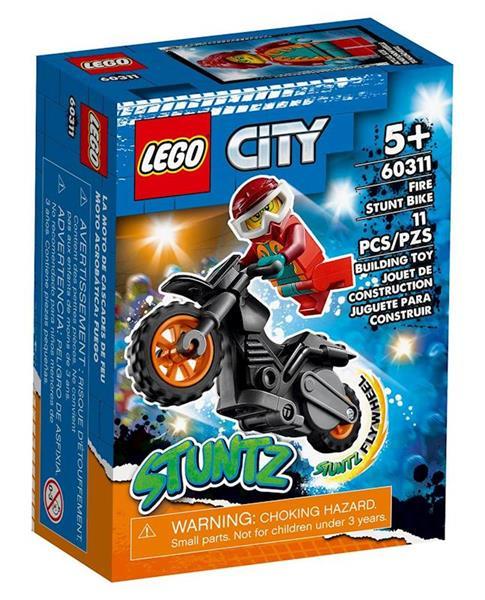 Imagen de Lego City Moto Acrobacias Stuntz Fuego