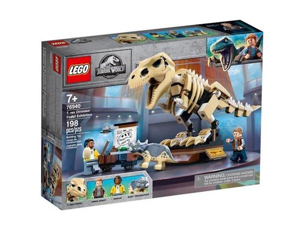 Imagen de Lego Jurassic World Exposición del T-Rex Fosilizado
