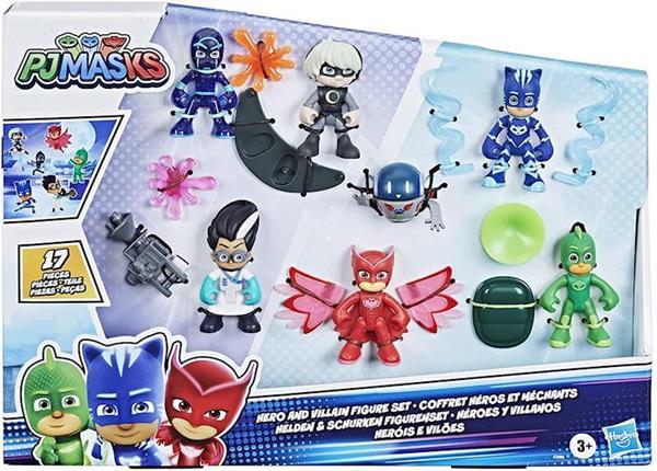 Imagen de Figuras Pj Masks Pack de 6 Héroes y Villanos