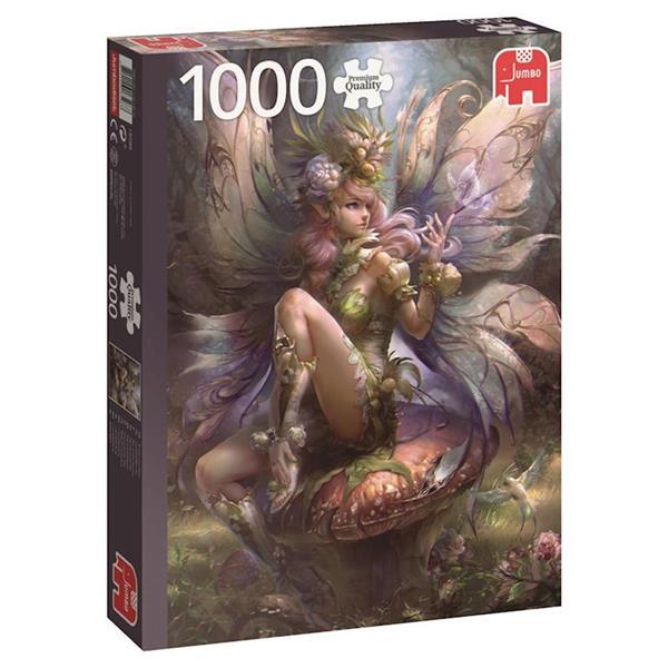 Imagen de puzzle 1000 piezas hada encantadora