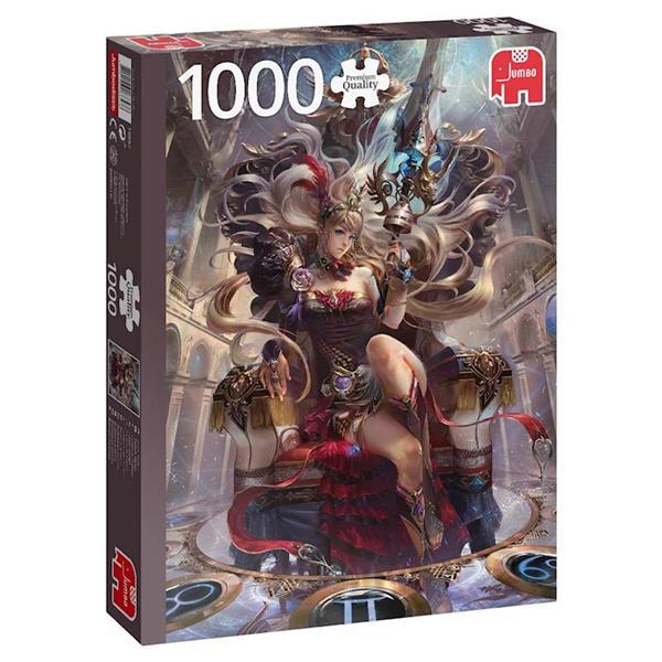 Imagen de puzzle 1000 piezas reina del zodiaco