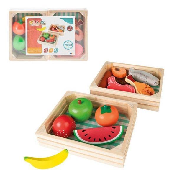 Imagen de caja comida madera woomax pack 2