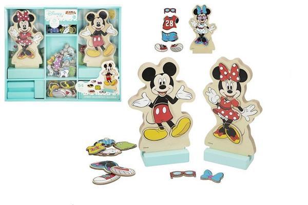 Imagen de Juego Madera Disney Vestidos Encajables