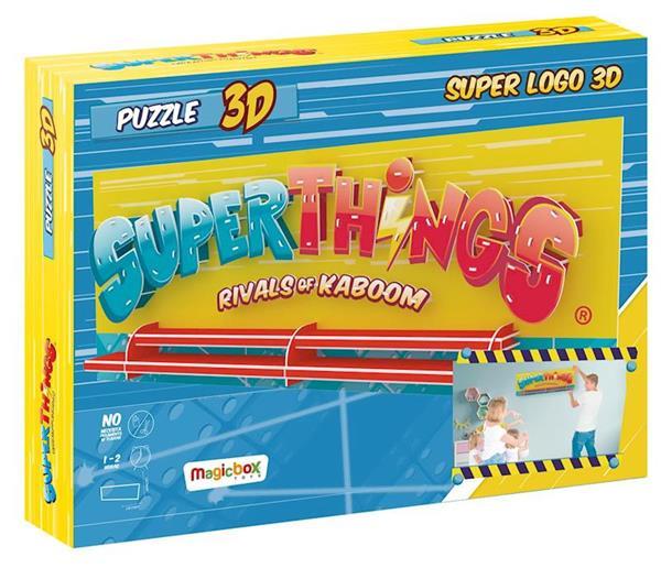 Imagen de Puzzle 3d Superthings Super Logo