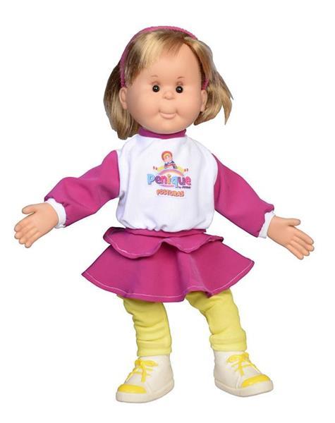 Imagen de muñeca penique posturas