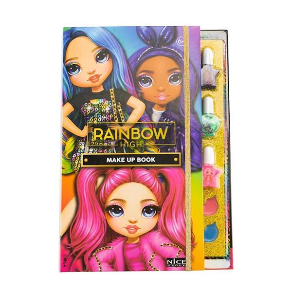Imagen de Set Maquillaje Libro Rainbow