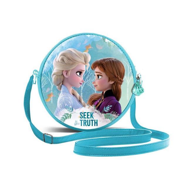 Imagen de bolso frozen 2 redondo 3D