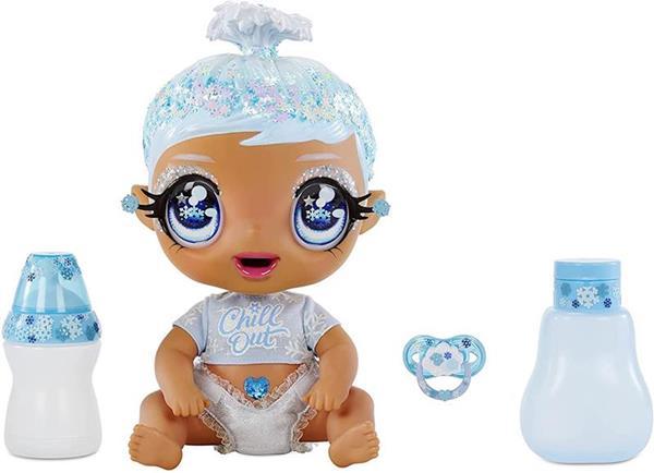 Imagen de Muñeca Glitter Babyz Copito Azul