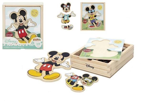 Imagen de Puzzle Madera Mickey 19 Piezas