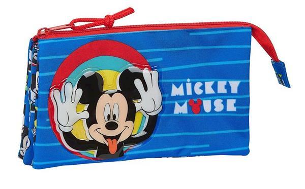 Imagen de Estuche Mickey Mouse Triple