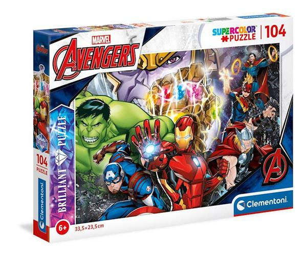 Imagen de Puzzle Los Vengadores 104 Piezas