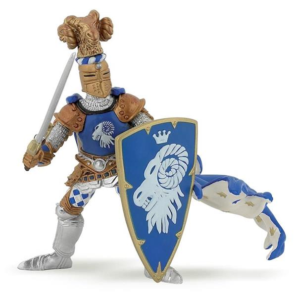 Imagen de Figura Caballero De Armas Azul