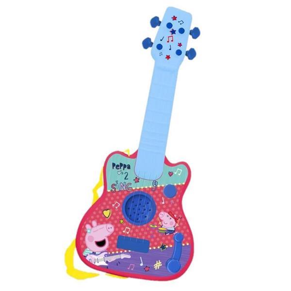 Imagen de Guitarra Infantil Peppa Pig Electrónica