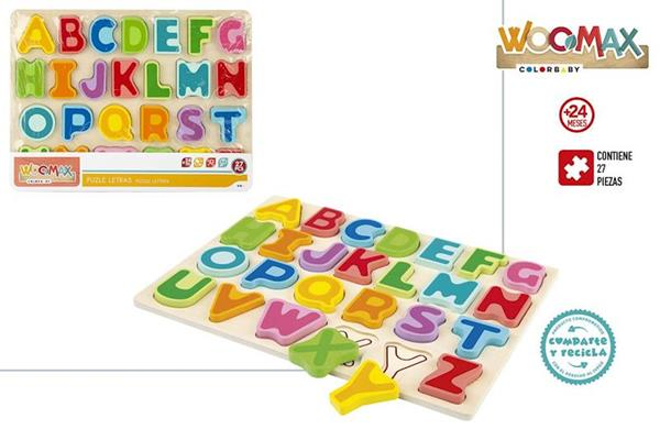 Imagen de Puzzle Alfabeto De Madera