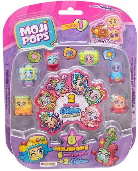 Imagen de Mojipops I 8 Muñecos 1X6 Glitter