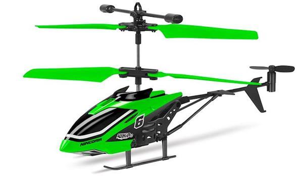 Imagen de Helicoptero Whip Verde RC