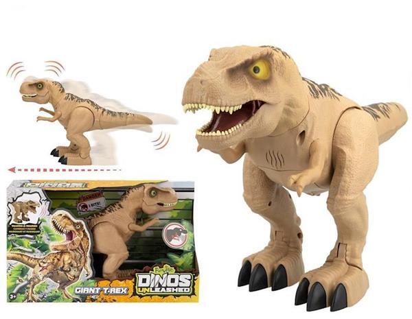 Imagen de dinosaurio t-rex interactivo