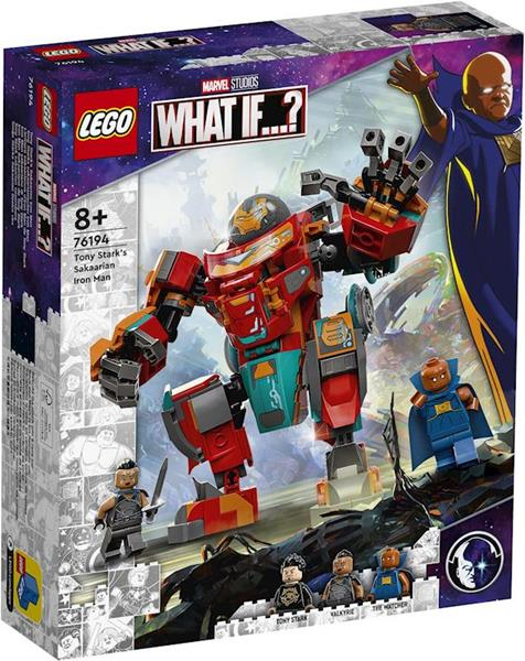 Imagen de Tony Stark´s Sakaarian Iron Man Lego