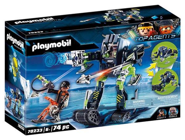 Imagen de Playmobil Top Agents Robot De Hielo